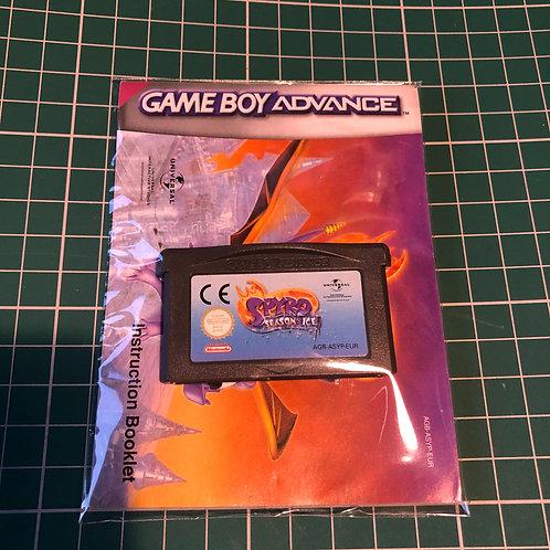 Spyro Season & Ice - Gameboy Advance