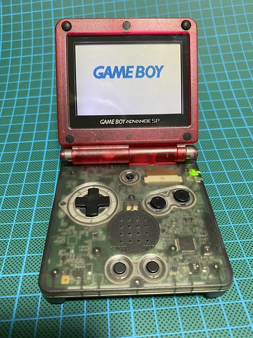 """Gameboy SP - """"Cherry Cola"""""""