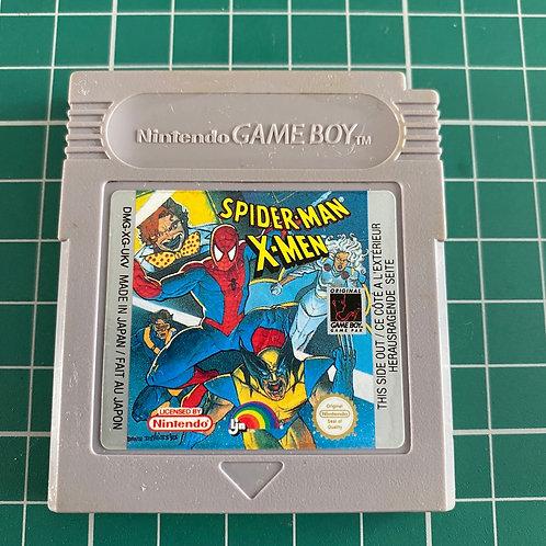 Spider-Man and the X-Men - Original Gameboy