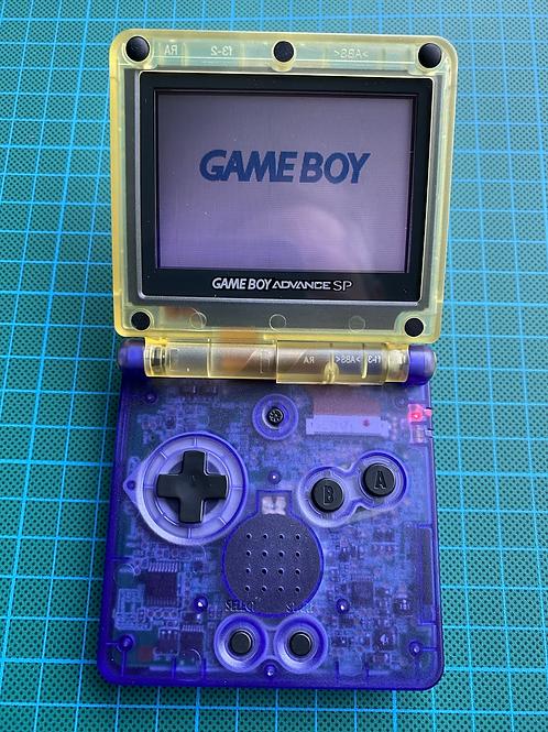 """Gameboy SP - """"Purple Hills"""""""