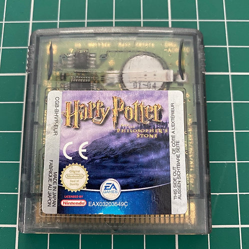 Harry Potter The Philosopher's Stone - Gameboy Colour