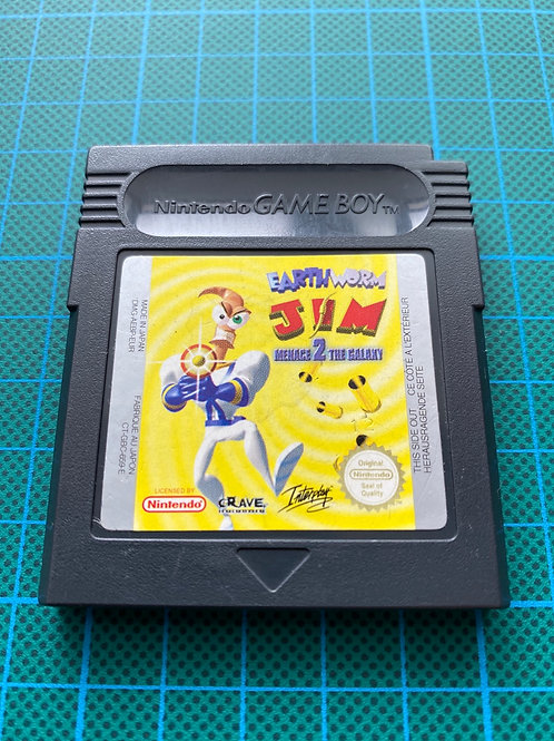 Earthworm Jim Menace 2 The Galaxy - Gameboy Colour