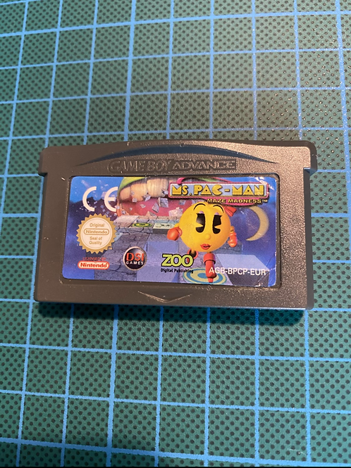 Ms Pacman Maze Madness - Gameboy Advance