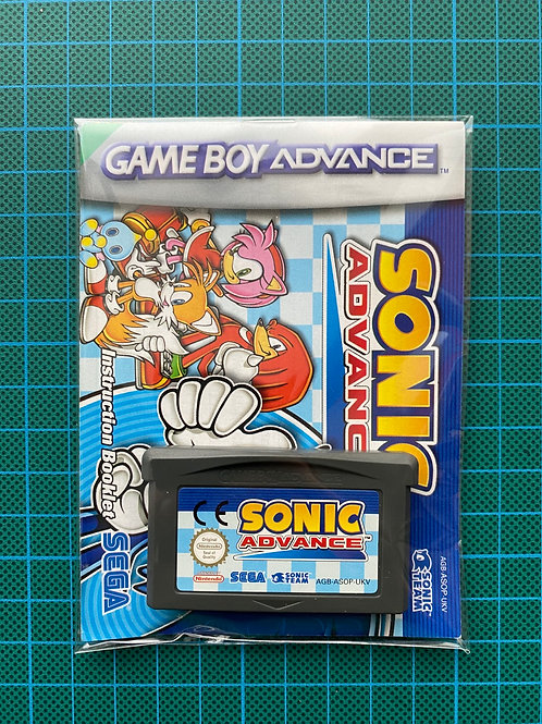 Sonic Advance - Gameboy Advance