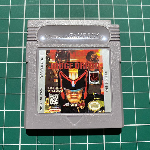 Judge Dredd - Original Gameboy