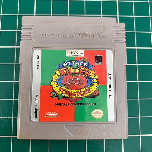 Attack of the Killer Tomatoes - Original Gameboy