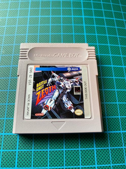 Battle Unit Zeoth - Original Gameboy