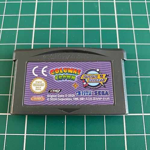 Columns Crown & Chu Chu Rocket - Gameboy Advance