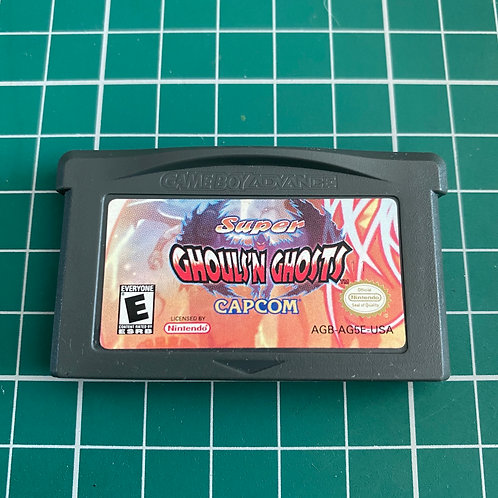 Super Ghouls N Ghosts - Gameboy Advance