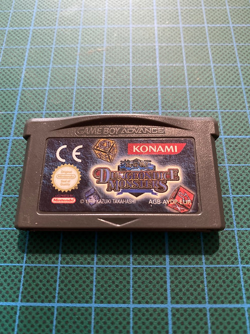 Yugioh Dungeon Dice Monsters - Gameboy Advance