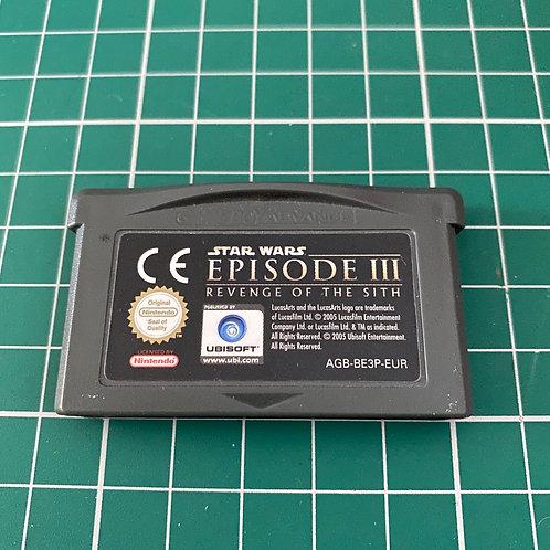Star Wars Episode III - Gameboy Advance
