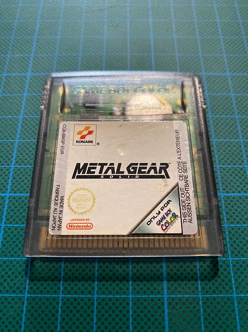 Metal Gear Solid - Gameboy Colour