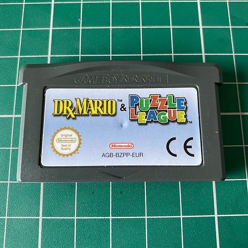 Dr Mario & Puzzle League - Gameboy Advance