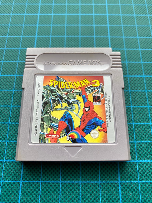 Spider-Man 3 - Original Gameboy