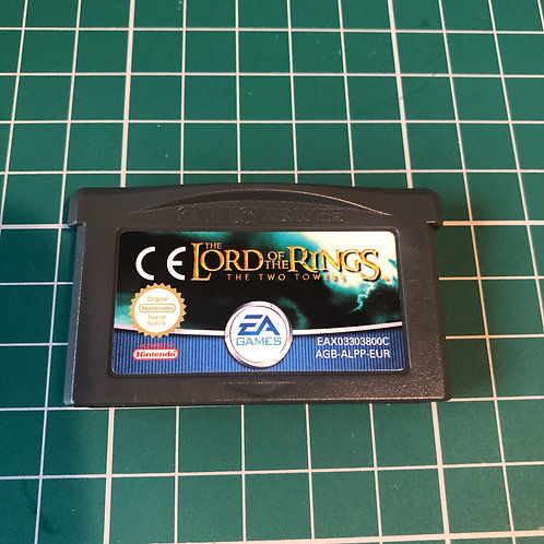 Lord of the Rings the Two Towers - Gameboy Advance