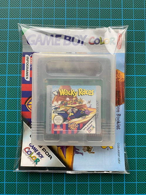 Wacky Races - Gameboy Colour