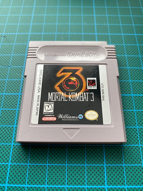 Mortal Kombat 3 - Original Gameboy