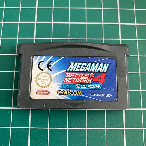 Megaman Battle Network 4 Blue Moon - Gameboy Advance