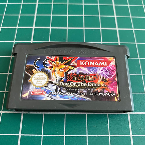 YuGioh Day of the Deulist - Gameboy Advance