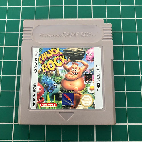 Chuck Rock - Original Gameboy