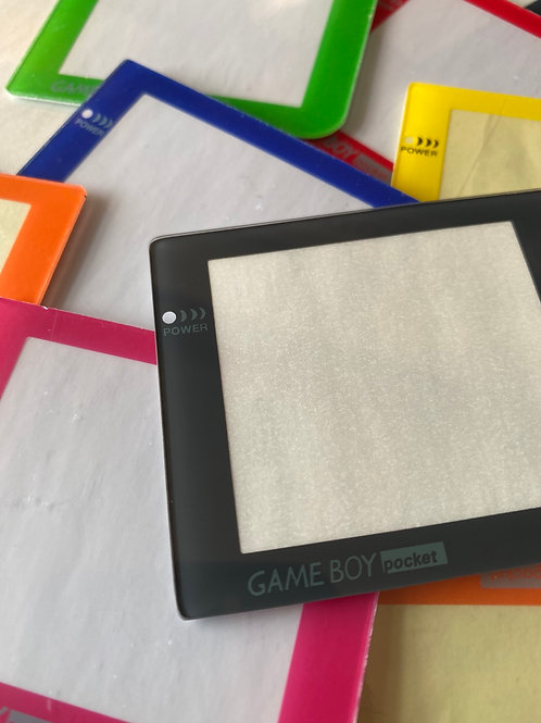 Gameboy Pocket Screens - Glass & Plastic