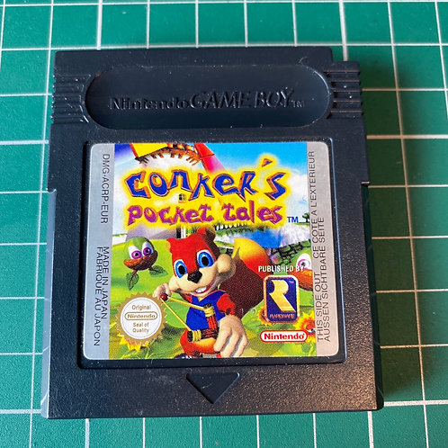 Conker's Pocket Tales - Gameboy Colour