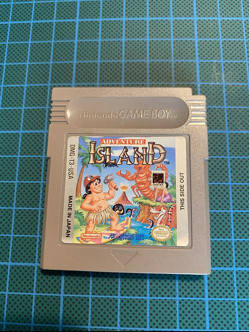 Adventure Island (US Version) - Original Gameboy