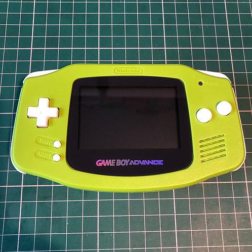 """Gameboy Advance """"Greenie Meanie"""""""