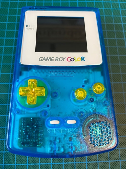 "Gameboy Colour - ""Blue Lagoon"""