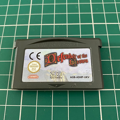 Defender of the Crown - Gameboy Advance