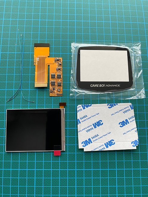 Gameboy Advance IPS V2 Backlight Kit