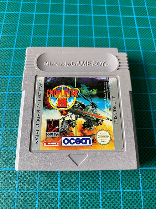 Choplifter III - Original Gameboy