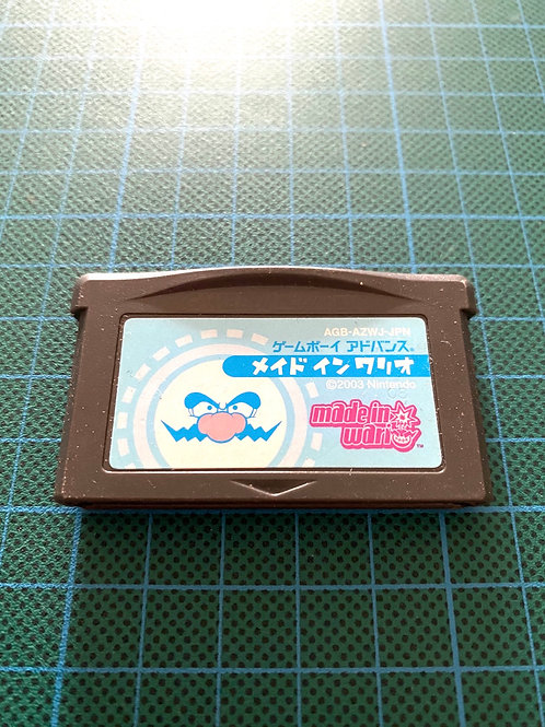 Made in Wario (warioware) - Japanese GameBoy Advance