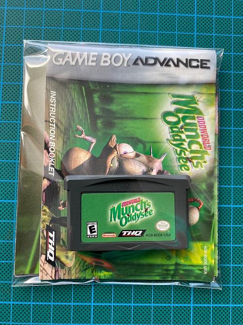 Oddworld Munch's Oddysee - Gameboy Advance