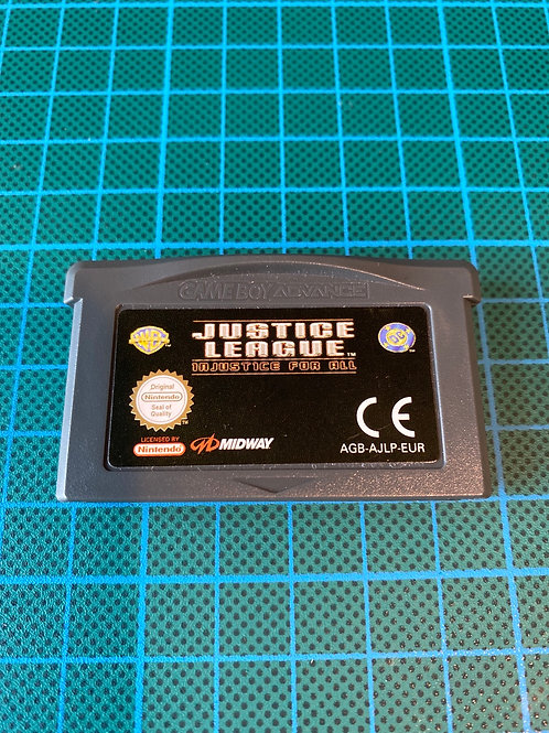Justice League Injustice For All - Gameboy Advance