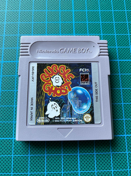 Bubble Ghost - Original Gameboy