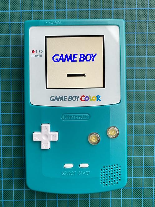"""Backlit IPS Gameboy Colour - """"Lights, Camera, Action!"""""""
