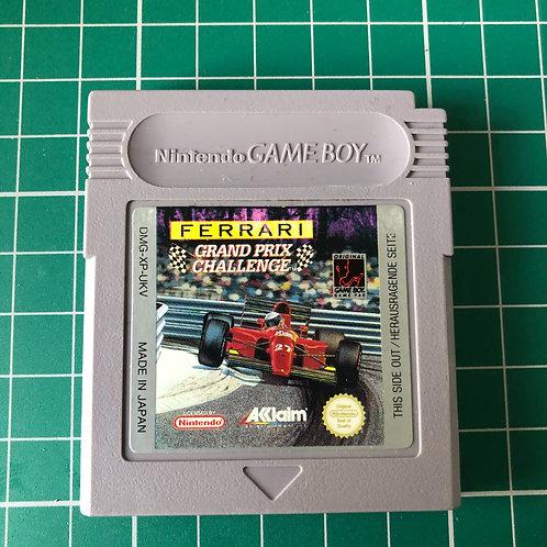 Ferrari Grand Prix Challenge - Original Gameboy