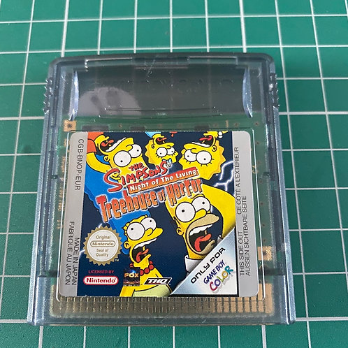 The Simpsons TreeHouse of Horror - Gameboy Colour