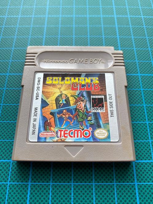 Soloman's Club - Original Gameboy