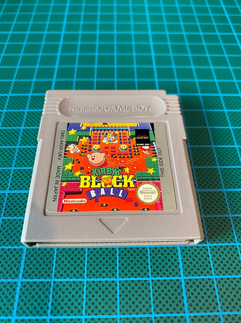 Kirby's Block Ball - Original Gameboy