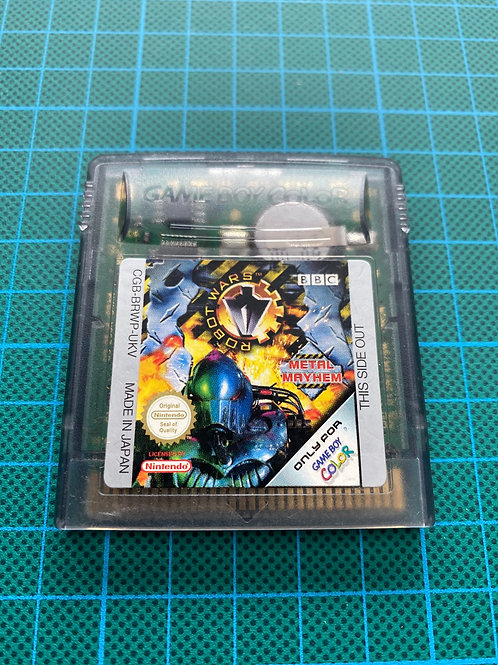 Robot Wars Metal Mayhem - Gameboy Colour
