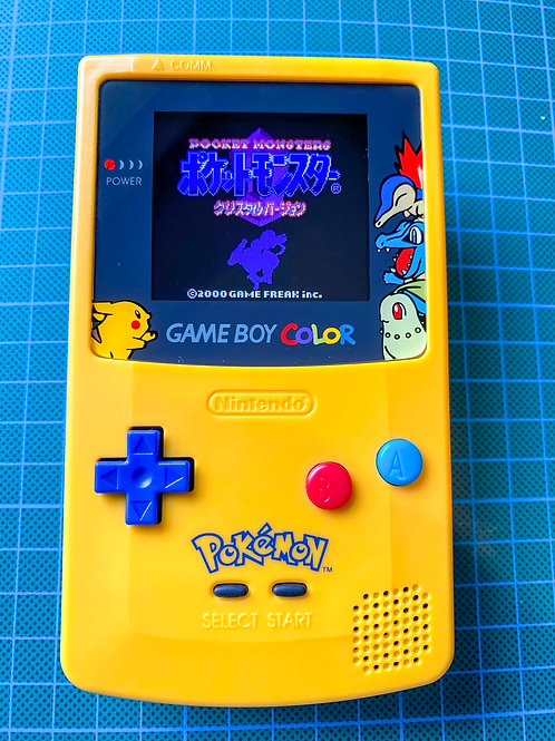 """Backlit IPS V2 Gameboy Colour - """"PokeBoy"""""""