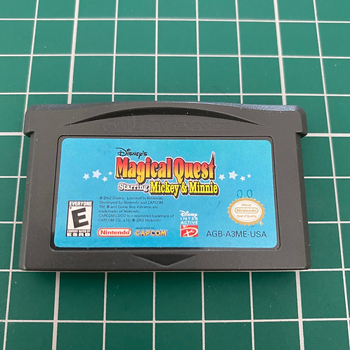 Magical Quest Starring Mickey & Minnie - Gameboy Advance