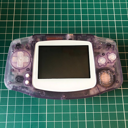 "Gameboy Advance ""Purple Player"""