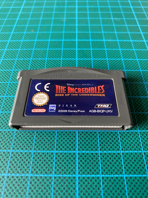 Incredibles Rise of the Underminer - Gameboy Advance