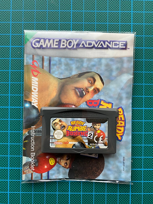 Ready 2 Rumble Boxing Round 2 - Gameboy Advance
