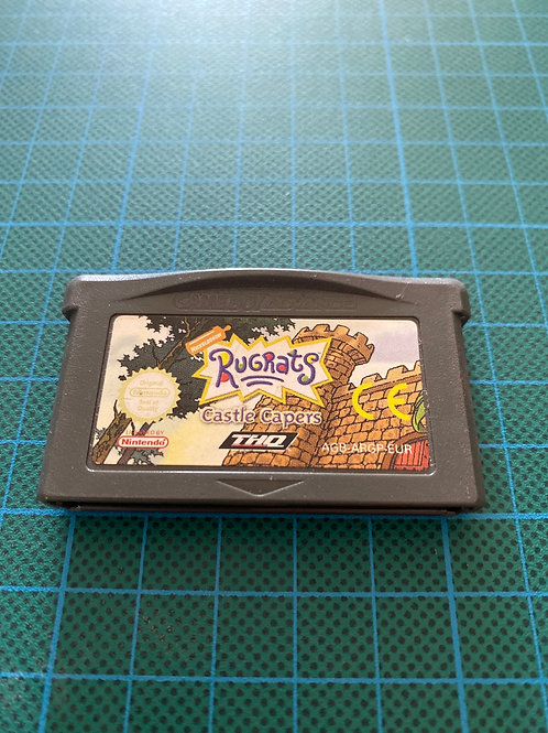 Rugrats Castle Capers - Gameboy Advance