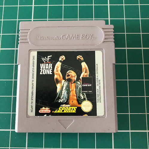 WWF War Zone - Original Gameboy