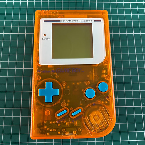 "Original Gameboy Console - ""Tangerine Terror"""